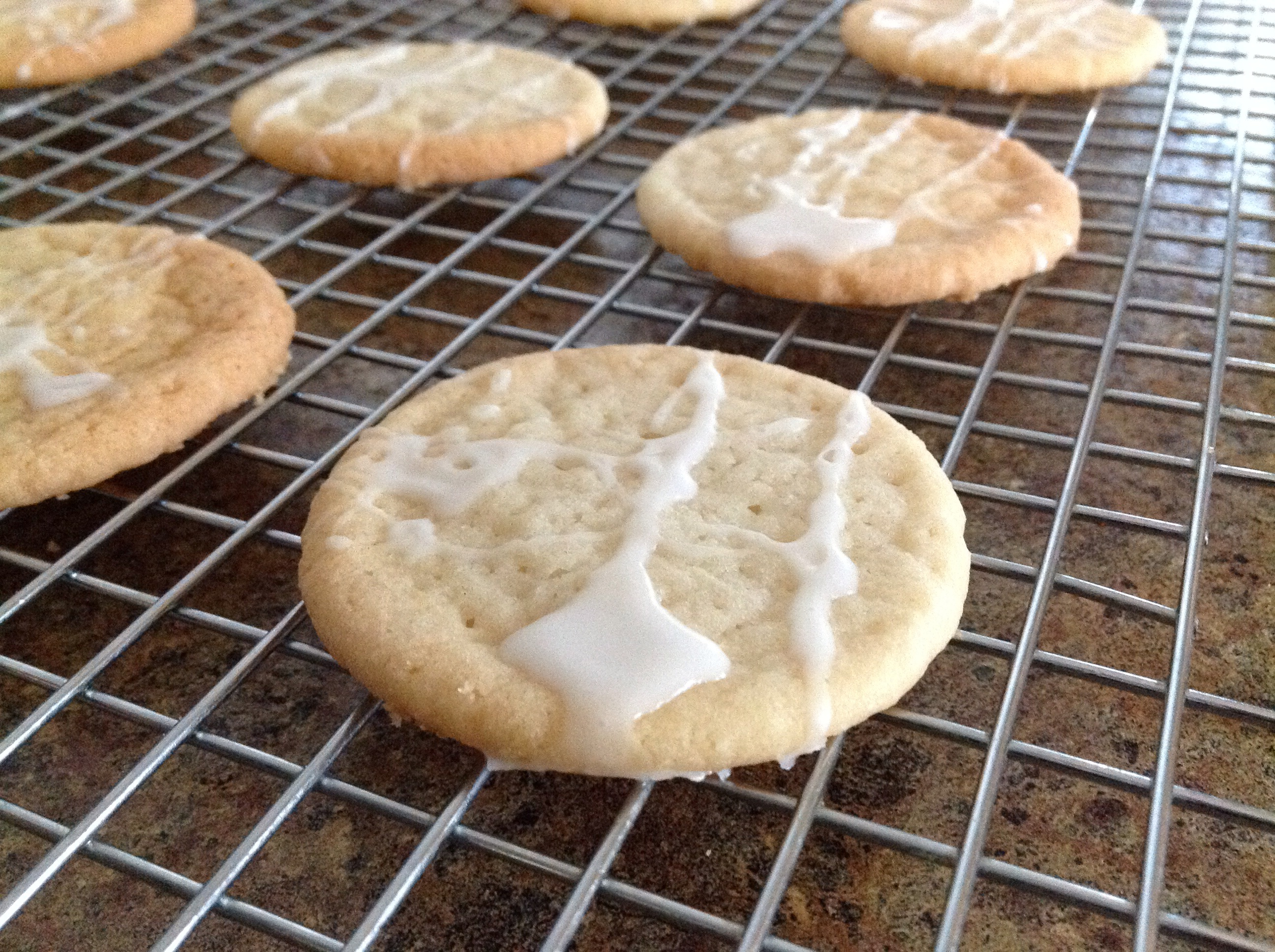 Glazed Almond Cutouts Simply Made Kitchen And Crafts